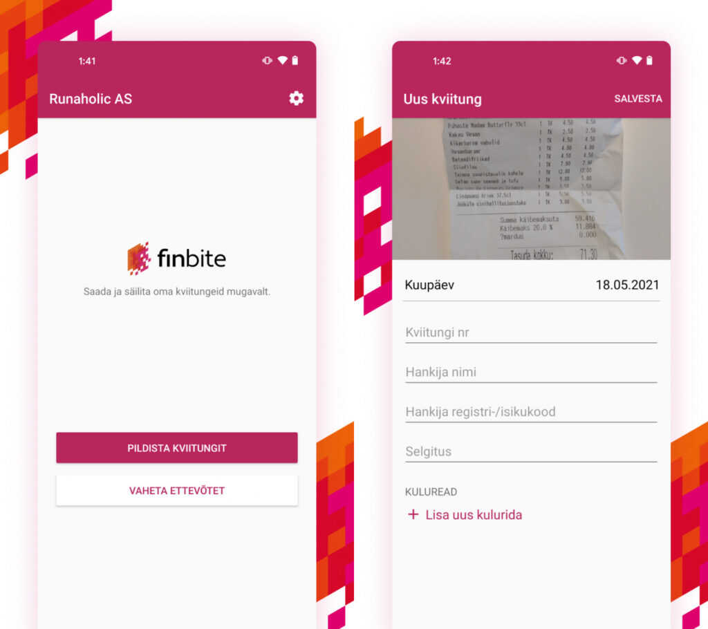 Finbite launched its updated apps both in Apple and Android