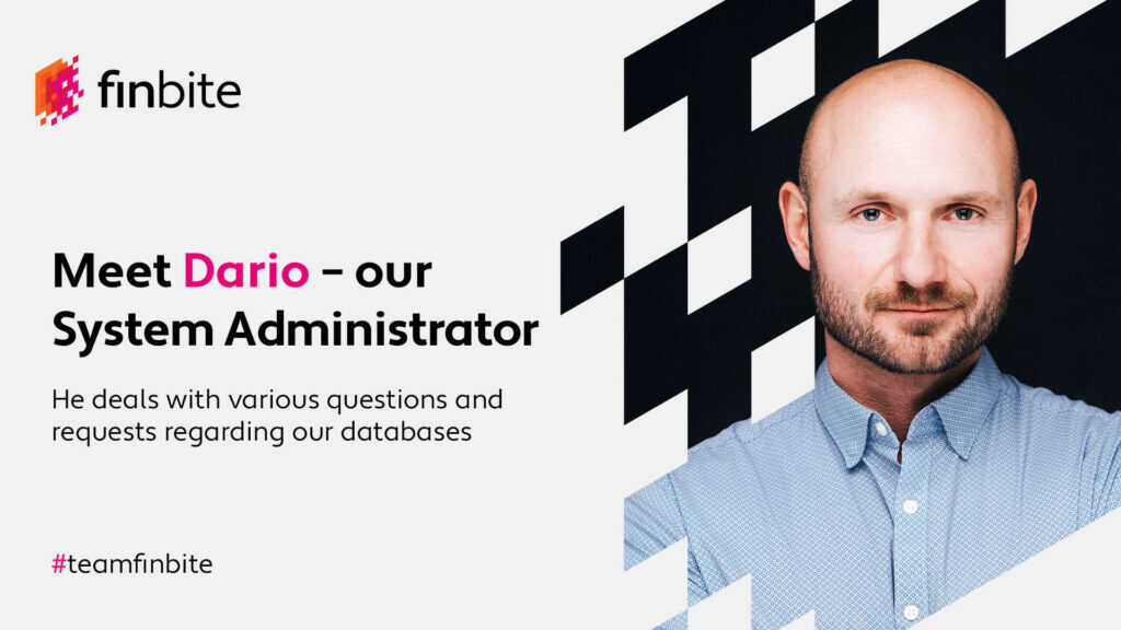 Let's get to know our system administrator Dario